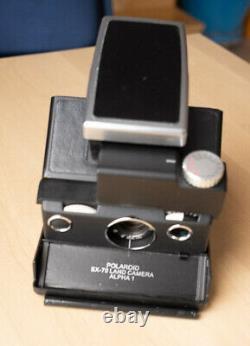MiNT SLR670-S BLACK Polaroid instant Camera Use 100 or 600 SX-70 film plus bonus