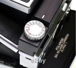 MiNT SLR670-S BLACK Polaroid instant Camera Use 600 SX-70 film (Tripod Mount)