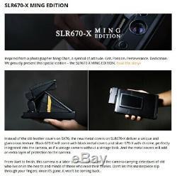 MiNT SLR670-X MING EDITION (Black) Polaroid instant Camera Use 600 SX-70 film
