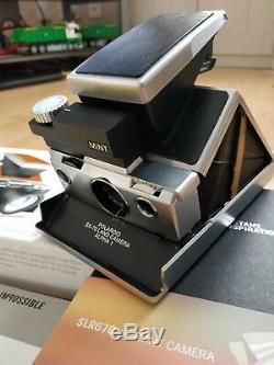 MiNT SLR 670-s Polaroid Camera + Film + Filters
