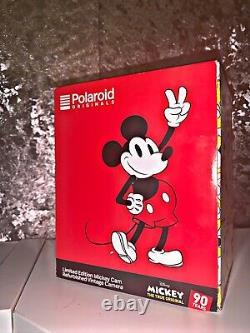 Mickey Mouse Polaroid 600 Camera