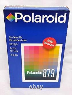 NEW Exp. 1999-12 Polaroid Polacolor 879 Instant Color Film 8x10 From JAPAN 662
