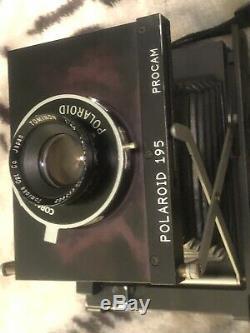 NPC Polaroid 195 Procam Instant Pack Film Camera