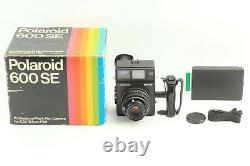 N. MINT Polaroid 600SE Instant Film Camera + Mamiya 127mm f/4.7 From JAPAN #55