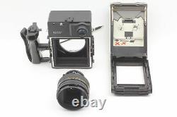 Near MINT POLAROID 600SE Instant Camera Mamiya 127mm f/4.7 Lens From JAPAN