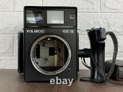 Near MINT Polaroid 600 SE Film Camera with MAMIYA 127mm f/4.7 Lens from JAPAN