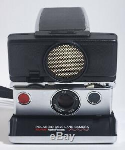 Near Mint Vintage POLAROID SX-70 LAND CAMERA SONAR AutoFocus Instant Film fromJP