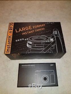 New Mint InstantKon RF70 Instax Wide Camera Large Format Instant (not Polaroid)