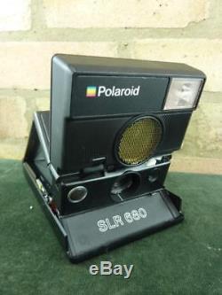 Nice vintage polaroid SLR 680 instant camera fully tested 600 Film