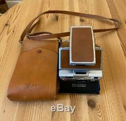 Original Polaroid SX-70 Land Camera with case used. Hasnt Been Tested Yet