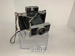 POLAROID 195 LAND CAMERA TOMINON 114MM F/3.8 LENS Vintage Photography Case