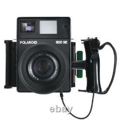 POLAROID 600SE FILM CAMERA + MAMIYA 127mm F4.7 LENS + FILM HOLDER / 90D W