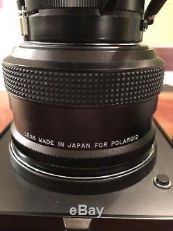 POLAROID 600SE withMAMIYA 127mm f/4.7 Medium Format Camera Super Clean