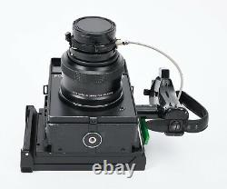 POLAROID 600 SE Instant Film camera with Mamiya 127mm f/4.7