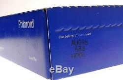 POLAROID 809 POLACOLOR ER 8X10 INSTANT FILM 18X24cm LRGE FORMAT SEALED EXP AUG98