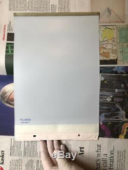 POLAROID 809 Polarcolor Instant Film 8x10in/18x24cm Large Format SEALED EXPJUN93