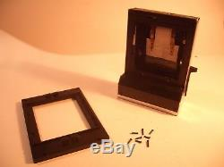 POLAROID CB 70 Back + 600 SE Frame / SX 70 / 600 Rückteil + Rahmen / Conversion