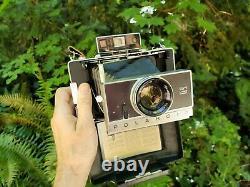 POLAROID MODEL195 LAND CAMERA Vintage Polaroid TOMINON Lens VERY GOOD