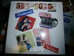 POLAROID SPICE GIRLS MINT Spice girls camera ++READY TO SHOOT PACKAGE+FILM +