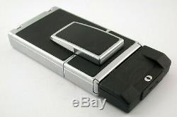 POLAROID SX70 classic instant Film Kamera camera Autofocus AF silver chrom /19K