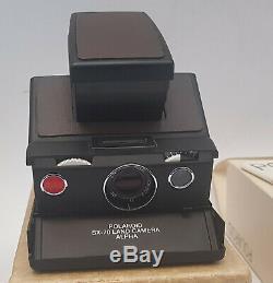 POLAROID SX-70 Alpha Land Camera Sofortbildkamera 1977