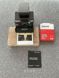 POLAROID SX-70 Camera, TESTED FULLY WORKING, POLAROID COLOUR FILM CARTRIDGE