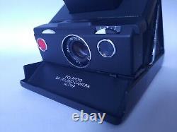 POLAROID SX 70 INSTANT LAND CAMERA Alpha Model 2 Black-Black / Sofortbild Kamera