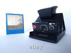 POLAROID SX 70 INSTANT LAND CAMERA Model 2 Black-Black / Sofortbild Kamera