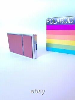 POLAROID SX 70 INSTANT LAND CAMERA / Silver Brown / Sofortbild Kamera + Box