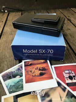 POLAROID SX-70 LAND CAMERA Paul Giambarba edition by the Impossible Project