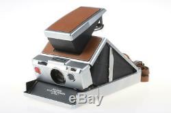POLAROID SX-70 Land Camera braun-silber