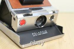 POLAROID SX-70 Land retro Instant Camera Sofortbild Kamera Sonar Autofocus