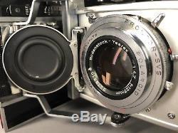 Polaroid 110A camera with Ysarex Lens Film Pack Conversion Fuji 4 X 5 Film Custom