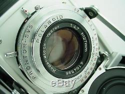 Polaroid 110A camera with Ysarex Lens & Four Designs film pack conversion-Gorgeous