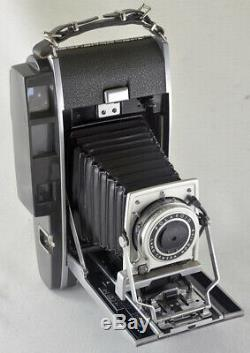 Polaroid 110B Land Camera 127mm f4.7 Shutter for conversion 4x5 packfilm instax