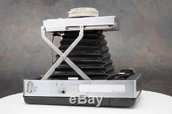 Polaroid 180 Instant Film Folding Land Camera Kit Tominon 114mm F4.5 Lens