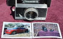 Polaroid 180 Professional Manual Camera, Shutter Works all speeds, Film TESTED