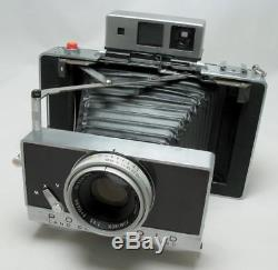 Polaroid 180 with Tominon 114mm F4.5 Lens Instant Film Camera in Good Condition
