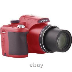 Polaroid 18MP 50x Zoom Instant Digital Camera with 3-inch TFT (Red)