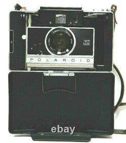Polaroid 195 Land Camera With114mm f3.8 Tominon Lens Non Original Front Cover