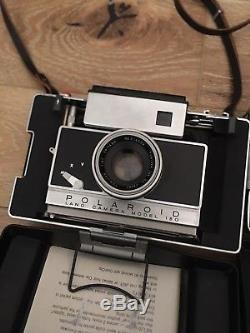 Polaroid 195 Land Camera and Polaroid 180 Land Camera! With Filter Kit