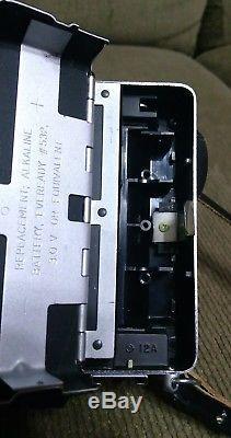 Polaroid 195 Land Camera with Tominon 13.8 f=114mm Lens