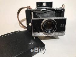 Polaroid 195 Land Camera with Tomioka Tominon 114mm f/3.8 lens
