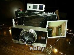 Polaroid 195 best fastest lens manual camera fp100c rare, zeiss icon vf tested