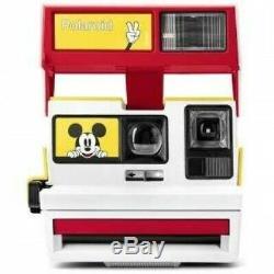 Polaroid 500 Limited Mickey Camera 90 Anniversary Box Cam Vintage 600 Instant