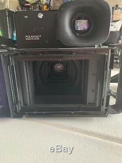 Polaroid 600SE Camera with127mm f4.7 Mamiya Lens