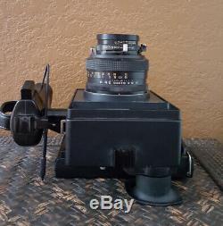 Polaroid 600SE Medium Format Camera with 127mm f 4.7 Mamiya Lens 600 SE