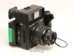 Polaroid 600SE mit Mamiya 4,7/127 mm