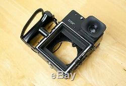 Polaroid 600SE pack film camera 3 lens kit Mamiya Sekor 75mm 127mm 150mm f/5.6
