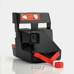 Polaroid 600 Hello Kitty Magical Camera 1992 Instant Film Camera Black Flash S